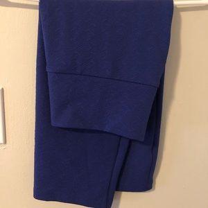 Navy blue pencil skirt, Lularoe, M